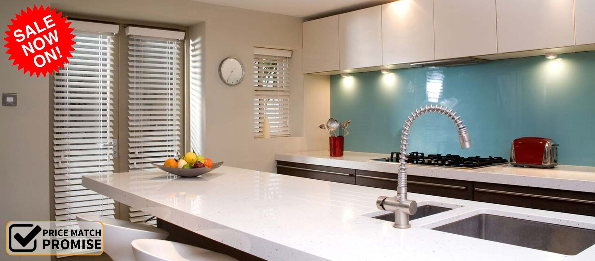 The Interior Shutter Company - Kitchen